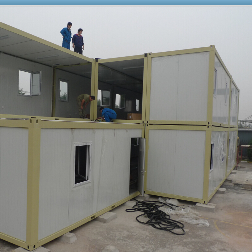 Newly Designed Solid Waterproof Camp Container House For Accommodation