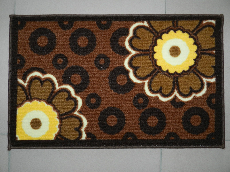 New Design 100% Polyester Printed Mat
