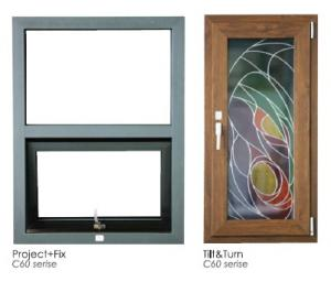Pvc Casement Window,Double Glazed Windows