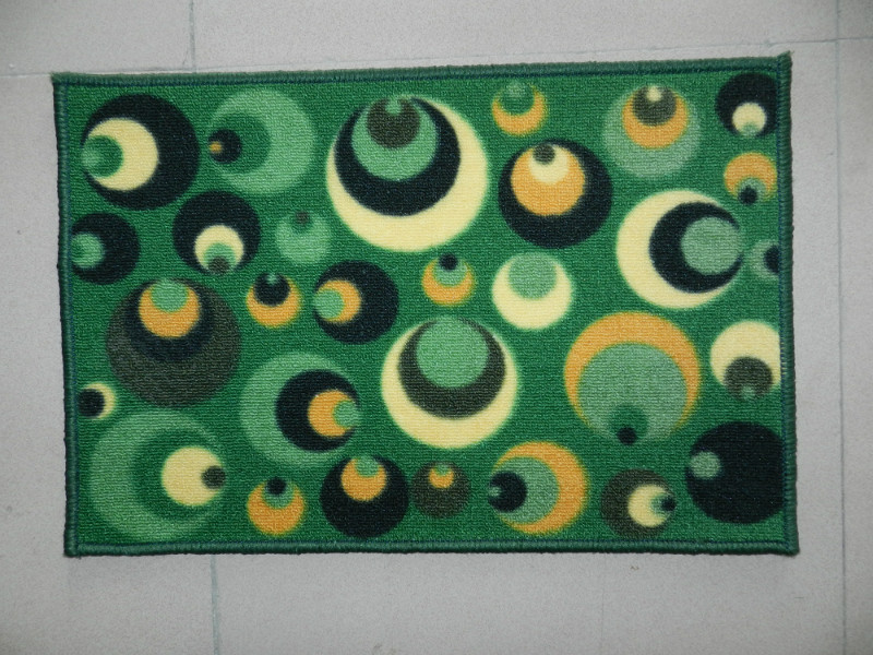 Tufted Low Pile Polyester Logo Mat