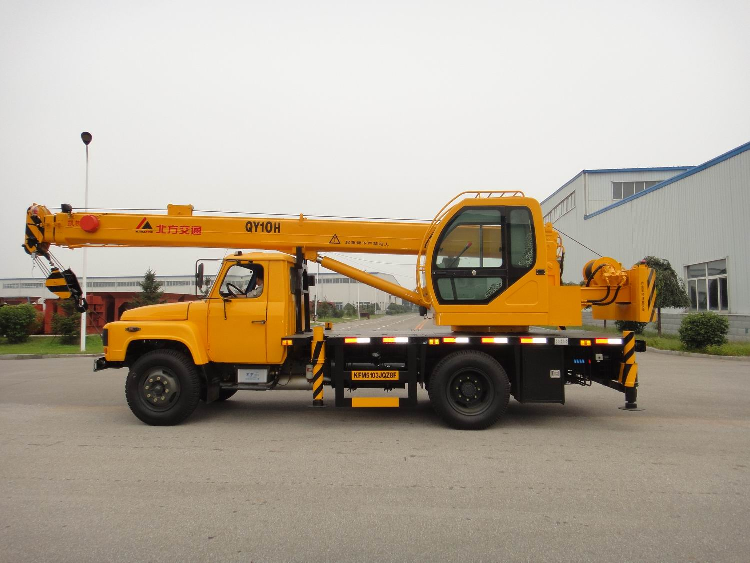 Truck Crane for Construction-10ton