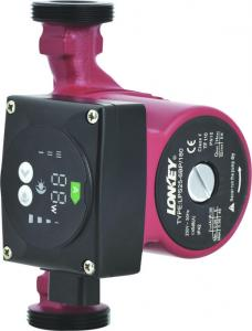 Energy Saving Hot Water Circulation Pump, Low Consumption Pump, Class A Intelligent Pump.