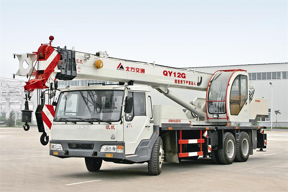 Truck Crane for Construction-12ton
