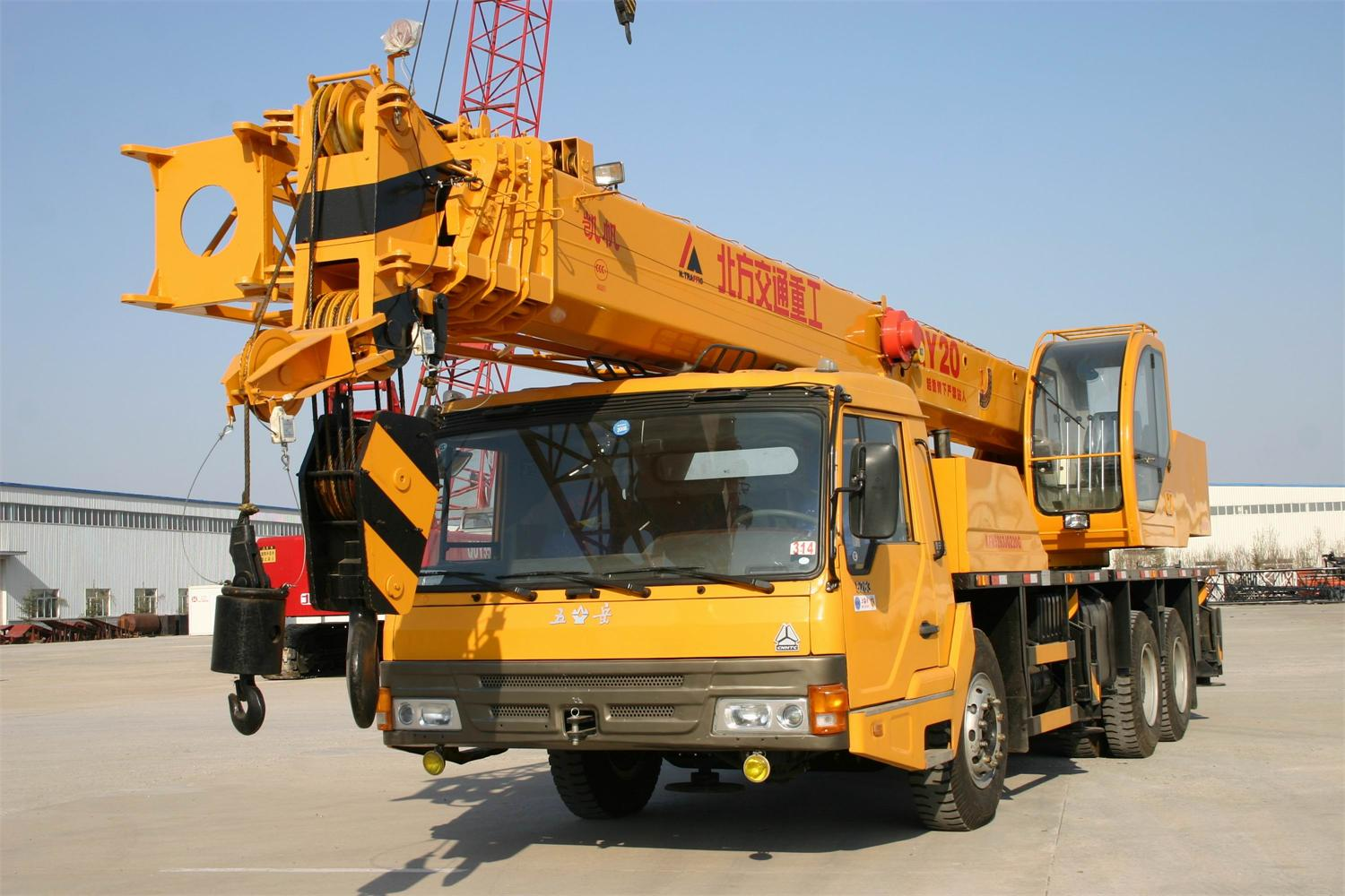 Truck Crane for Construction-20ton