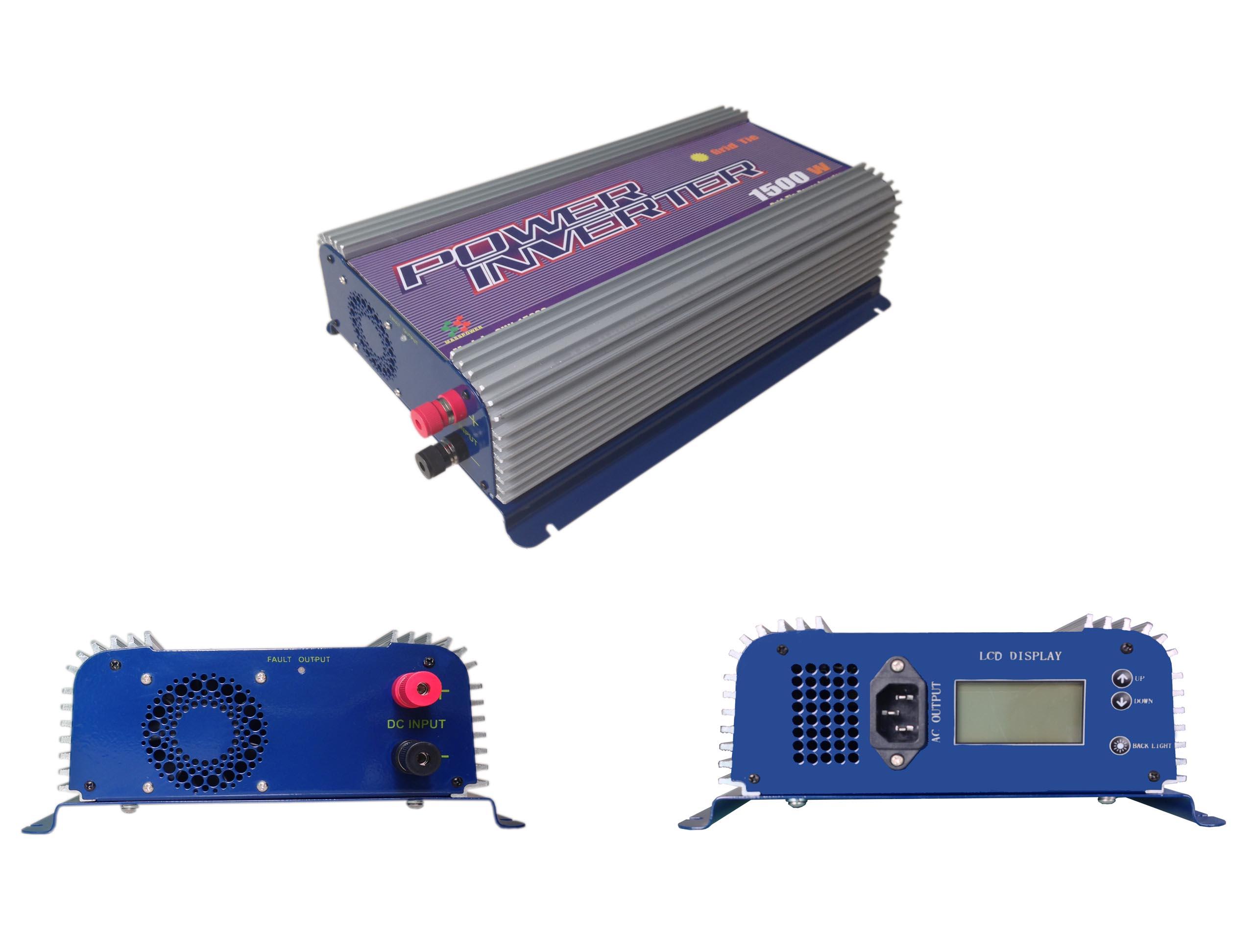 Solar Grid Tied Inverter/1500w SUN-1500G-LCD
