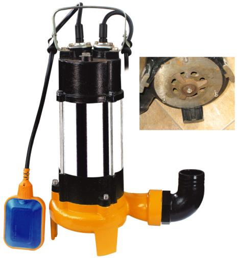 Automatic Sewage Crusher Submersible Pump,1.5hp Cutting Submersible Pumps