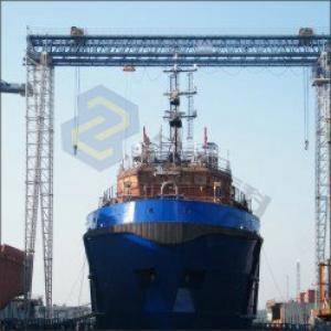 Shipyard gantry crane 05