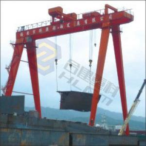 Shipyard gantry crane 04