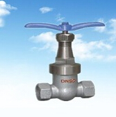 Cast steel Gate Valve with internal tread