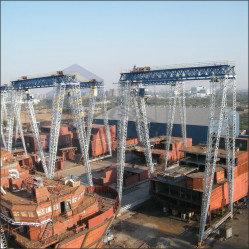 Shipyard gantry crane 07