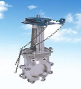 Knife Gate Valve With Chain