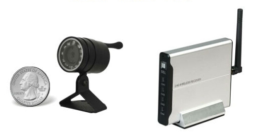 Wireless Outdoor Mini-Cam Kit