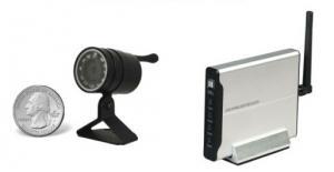 Wireless Outdoor Mini-Cam Kit