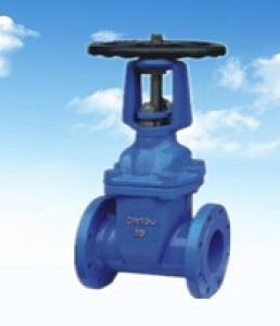DN100 Cast Steel Gate Valve Soft Seal Gate Valve