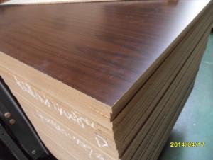 18mm Both Sides Melamine MDF for Furniture or Decoration
