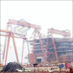 Shipyard gantry crane02