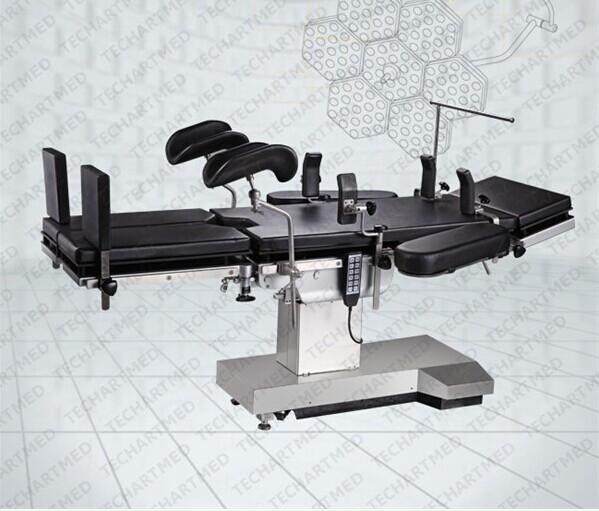 medical versatile usage operation table with C arm compatible