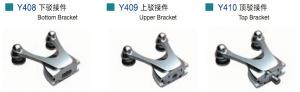 Stainless Steel Top Bracket Y410 for Glass Door