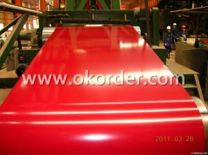 Prepainted Galvanized Steel Coil 122O*O.55