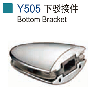 Stainless Steel Bottom Bracket Y505 for Glass Door