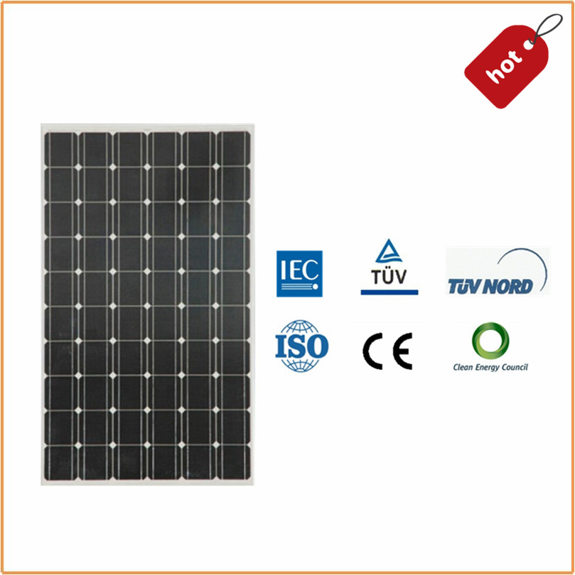 Outdoor Mono 260w PV Solar Module with Certification TUV