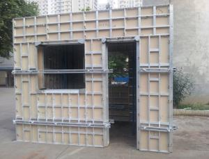 aluminum formwork system and scaffolding system