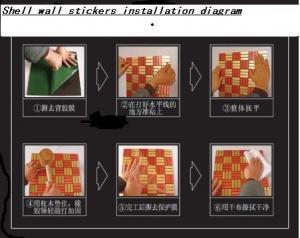 Bamboo Mosaic Decoration Materials