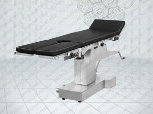 double layer tabletop C arm compatible mechanical operating table