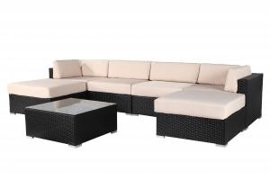 Popular Outdoor Rattan Sofa set for garden
