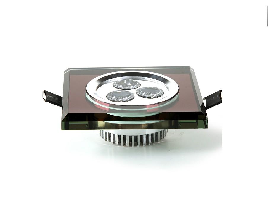 3 watt LED crystal lamp integration ceiling 2.5 inch cat's eye snuff BianKuan bovine eye lamp background wall
