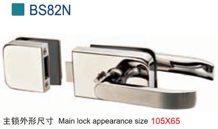 Door Lock for Frameless Glass Door BS82N