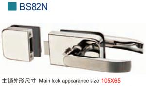 Door Lock for Frameless Glass Door BS82N
