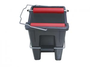 Plastic Cleaning Squeeze Mop Bucket 14L