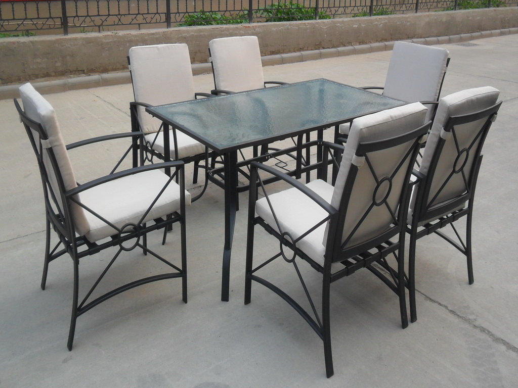 Metal Dining Sets Modern Design Hot Sale to North American Markets 70003F