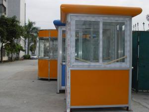 Prefabricated Steel Structure Sentry box 003 Style with Good Durable Using Term