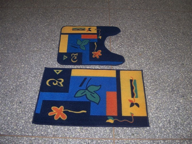Colorful Bathroom Mat From China Manufacture