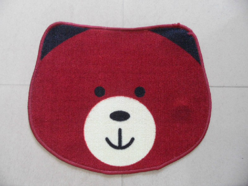 Good Quality Red Color Polyester Mat