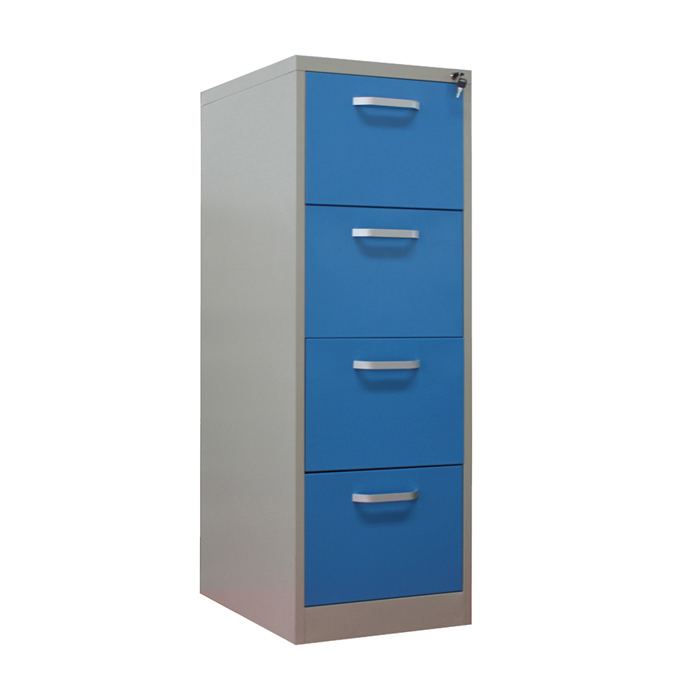 high quality 4 Drawer Vetical File Cabinet with handles
