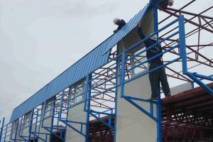 Prefabricated Steel Structure Modular Home Easy for Elevation