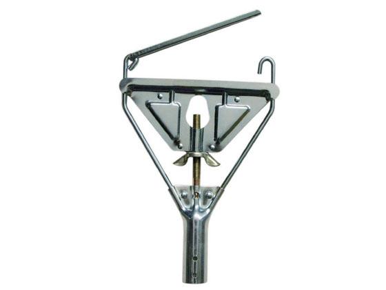 Metal mop clip or gripper