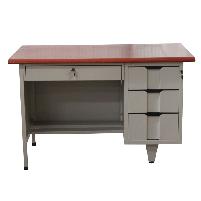 Metal Office Table with MDF top