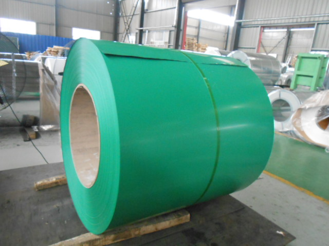 PREPAINTED GALVANIZED STEEL COILS
