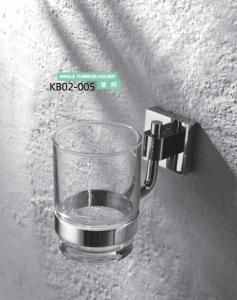 Brass Bathroom Accessories- Single Tumbler Holder KB02-005