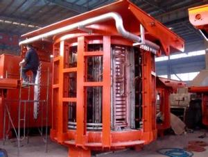 50T scrap metal melting furnaces