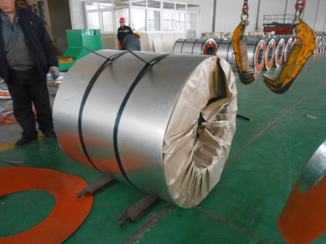DOUBLE-COATED PREPAINTED GALVANIZED STEEL COILS