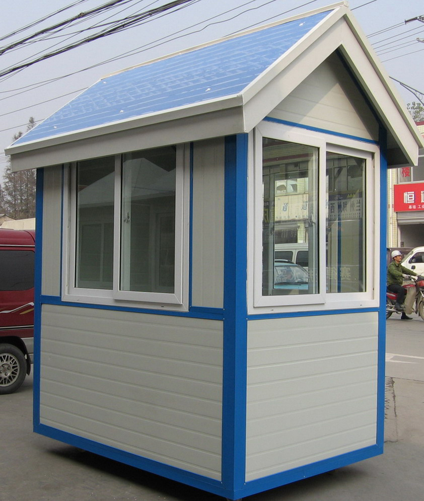 Prefabricated Steel Structure Sentry Box 004 Style with Good Quality