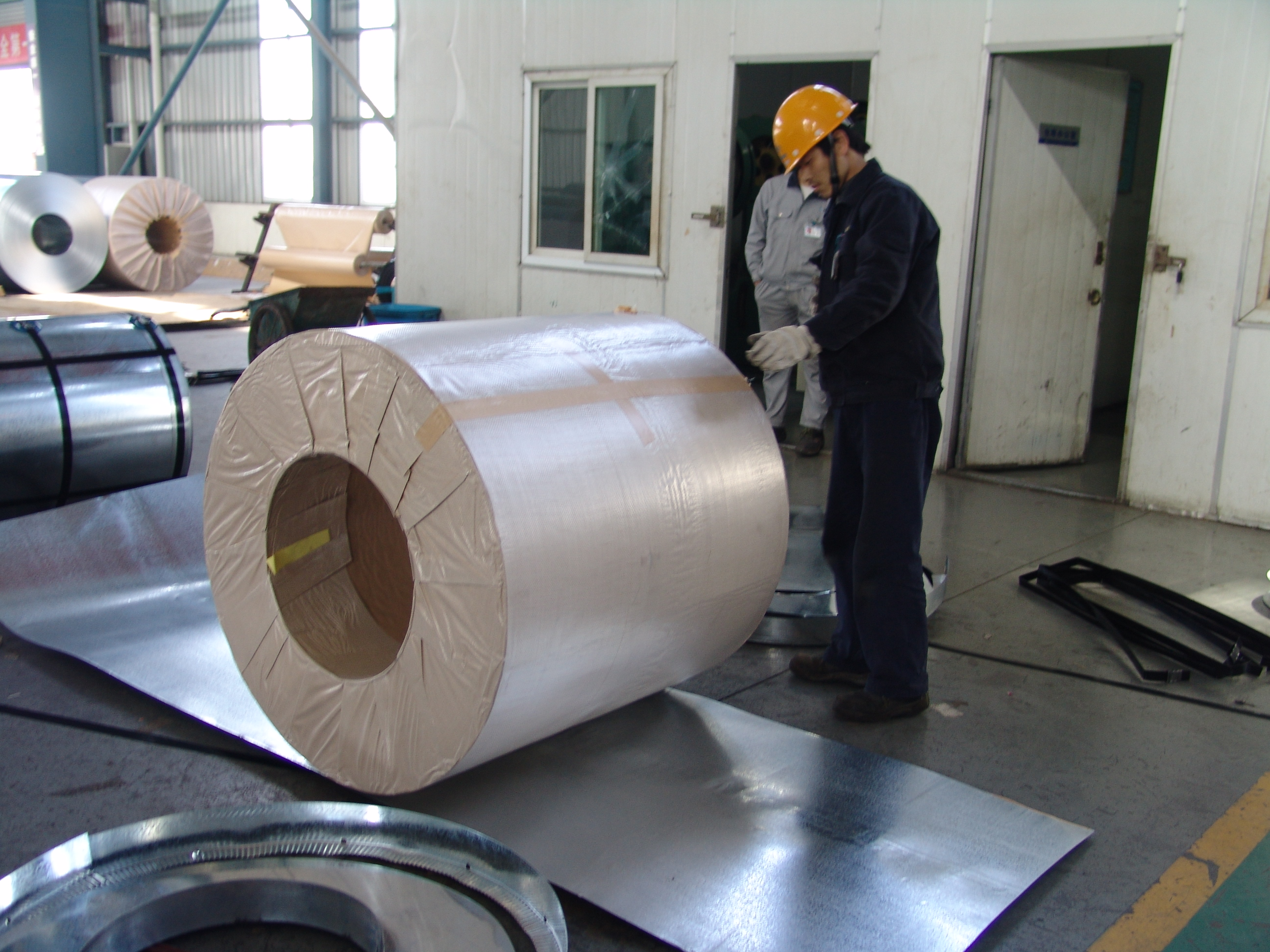 Pre-painted Galvanized Steel Coil-JIS G 3312-RAL9016