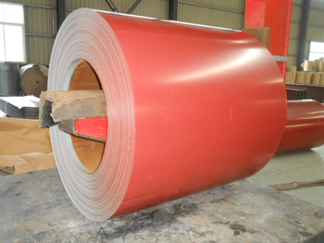 PRE-PAINTED GALVANIZED STEEL COIL KAHALARI RED
