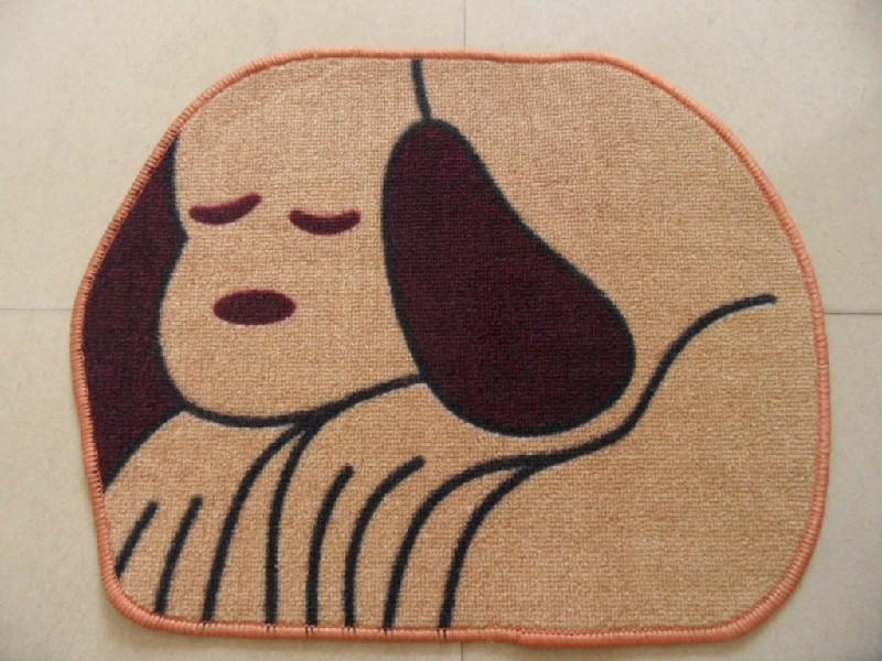 Modern Kids Polyester Printed Rug