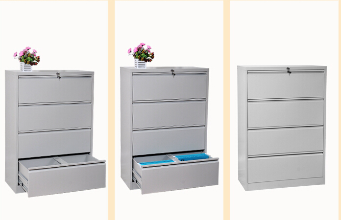 4 Drawer Laterial File Cabinet